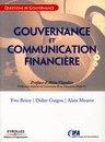 Gouvernance et communication financière Yves Brissy , Didier Guigou , Alain Mourot