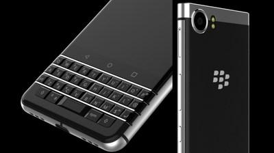 #CES2017 : 1er aperçu du nouveau clavier du téléphone intelligent #BlackBerry