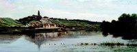 Charles-François Daubigny - La Seine à Herblay - DR Collection du Conseil Général du Val d'Oise