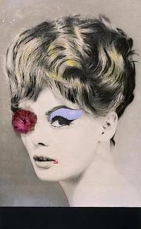 Martial Raysse, La belle Mauve, 1962 - Musée des Beaux-Arts de Nantes