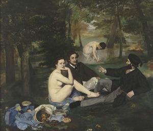 Le Déjeuner sur l'herbe (détail) - Edouard Manet, musée d'Orsay - © Photo RMN - Hervé Lewandowski