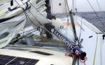 Vendée Globe - Bôme cassée et skipper blessé à bord de Fondation Ocean Vital