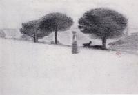"Exposition - Henri-Edmond Cross : ""aquarelles et crayons """
