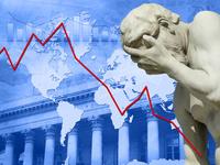 L'Europe touchée de plein fouet par la crise...