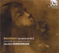 Anton Bruckner (1824-1896): Symphonie n°5 en si bémol majeur. Orchestre des Champs-Elysées. Philippe Herreweghe, direction.