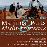 Marines et ports méditerranéens - Peintures des XVIIIème, XIXème et XXème siècles