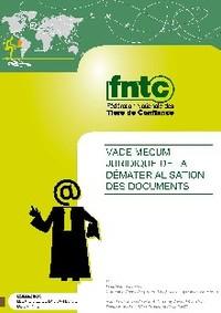 Vademecum juridique de la dématérialisation des documents (GRATUIT)