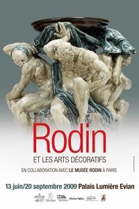 Le temps d'un été, Rodin s'invite au Palais Lumière à Evian