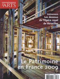 Le Patrimoine en France 2009