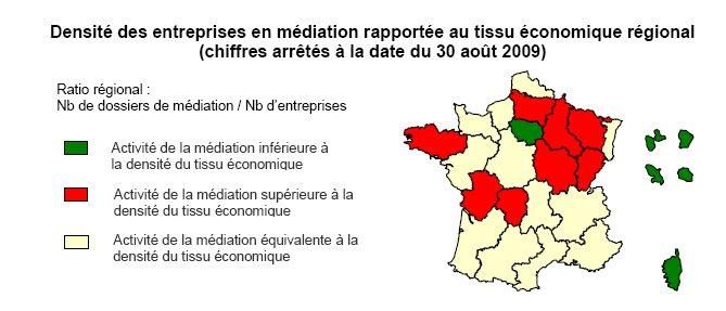 Rapport d'Activité de la Médiation du Crédit aux Entreprises (sept 2009)