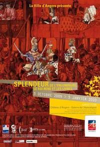 EXPOSITION « Splendeur de l'enluminure. Le roi René et les livres » au château d'Angers