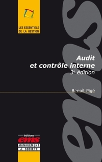 Audit et contrôle interne - 3e édition