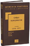 Mémento Union européenne -  2010/2011
