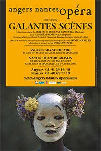 Angers Nantes Opéra : Galantes Scènes