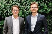 Guillaume Piard et Hugo Bompard