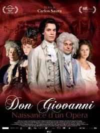 CINEMA: Don Giovanni, naissance d'un opéra. Film de Carlos Saura. Sortie le 12 mai 2010