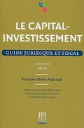 Le capital-investissement 2010 - Guide juridique et fiscal