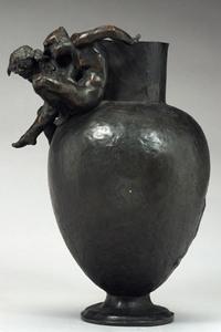 Rodin, Projet de vase décoratif, bronze Vers 1890 - Musée Rodin © musée Rodin – photo : Christian Baraja