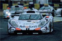 La Porsche GT1 (Vainqueur des 24 Heures du Mans en 1998)