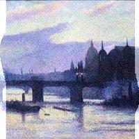 Maximilien Luce Vue de Londres (Canon Street), 1893 Collection particulière © Tous droits réservés © ADAGP, Paris 2010