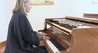 Récital d'Elizabeth Sombart, piano.
