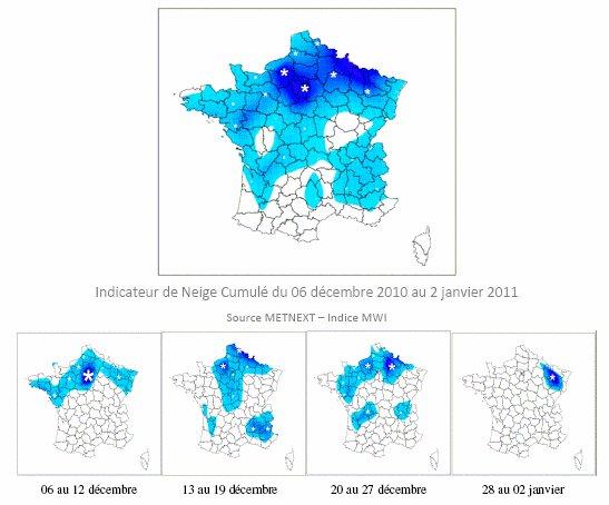 Ce que les conditions hivernales de décembre 2010 ont vraiment coûté à la Grande Distribution