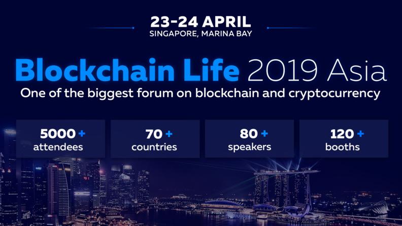 Singapore Hosts the Worldwide Crypto Forum - Blockchain Life 2019