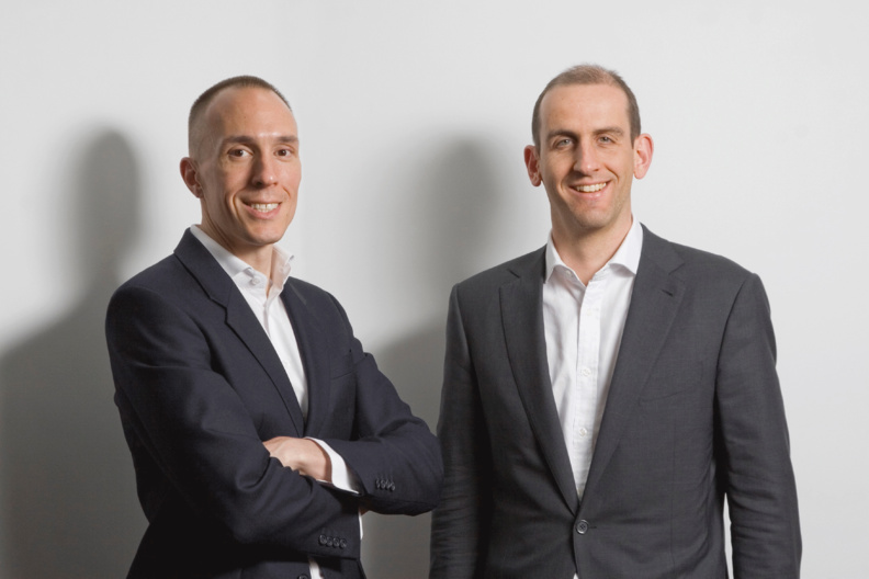 Nils Behling (Founder & CFO) and Christoph Gugelmann (Founder & CEO)