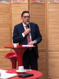 Charles René Tandé Président du Conseil supérieur de l'ordre des experts-comptables