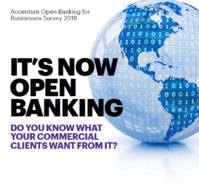 90% des grandes banques envisagent de fournir des services d'Open Banking à leurs clients professionnels