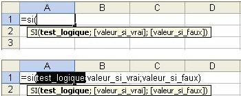 Monsieur Excel : Lire les arguments d'une fonction