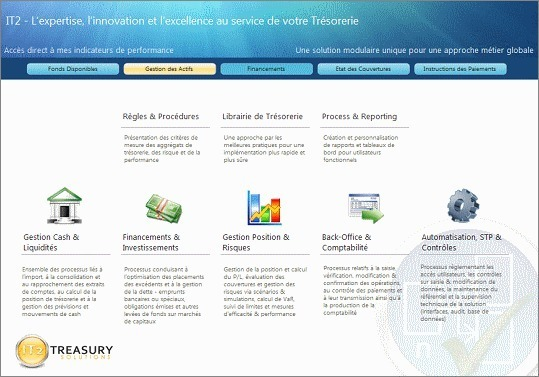 Quentin Heslouin, Responsable France de IT2 Treasury Solutions