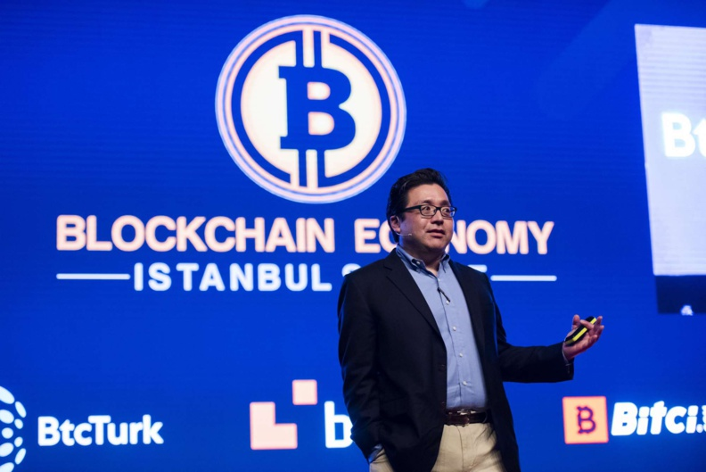 "Tom LEE is back in Istanbul for the ""Blockchain Economy 2020""!"