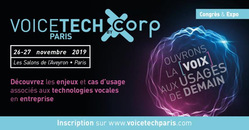 Tout l'écosystème vocal réuni à Paris pour accélérer la transition conversationnelle des entreprises et favoriser l'émergence d'une économie vocale à la française.