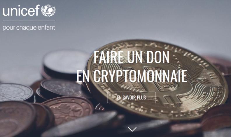 UNICEF lance un Fonds en crypto-monnaies