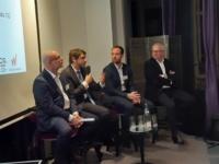 De gauche à droite : Pierre-Yves Hentzen, Pierre-Michel Becquet, Samuel Bizouard et Philippe Brun