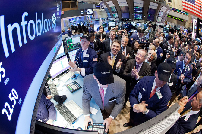 Introduction en bourse d'Infoblox (Finyear New York)