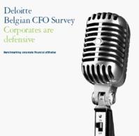 Deloitte Belgian CFO Survey: Corporates are defensive