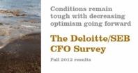 The Swedish CFO Survey - 2012