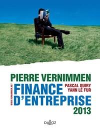 Finance d'entreprise (édition 2013)
