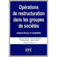Opérations de restructuration dans les groupes de sociétés