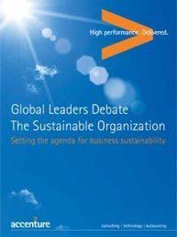 Global Leaders Debate: The Sustainable Organization
