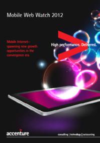 Étude Mobile Web Watch 2012