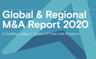 2020 Global M&A Roundup with Financial Advisors League Tables