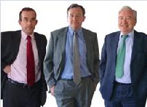 Les fondateurs de Clientys : Etienne Peigné, Antoine Bauche et Vincent Macqueron