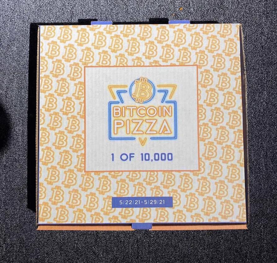 Happy Bitcoin Pizza Day!