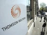 Investment Banking Activity in Financials Sector: Thomson Reuters