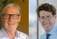 Gilles Peiny, Directeur Commercial Atradius, et Patrick Touton, Directeur Général Financière Isodev