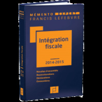 Mémento Intégration fiscale 2014-2015