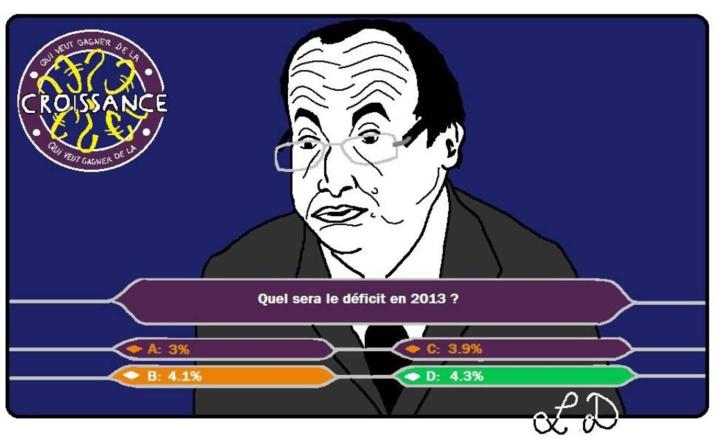 La douloureuse trajectoire budgétaire française de 2013